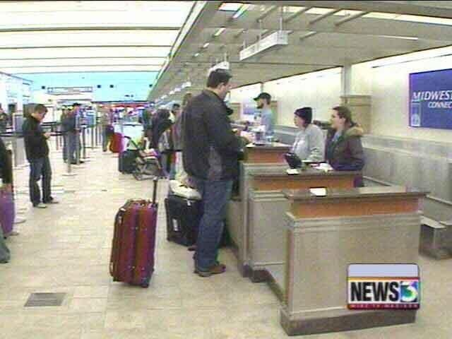 Fog causing travel problems for airlines