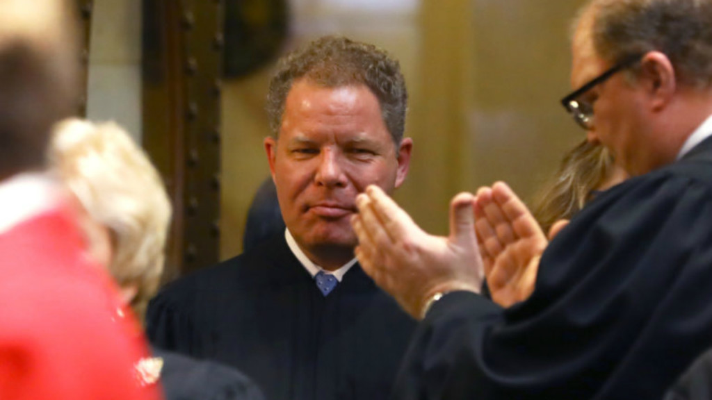 Wisconsin Supreme Court Justice Kelly ticketed for accident