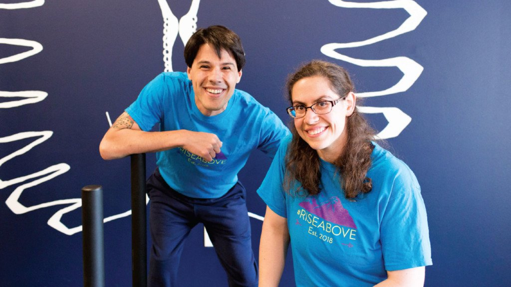 Couple with spina bifida embraces fitness to live their best lives