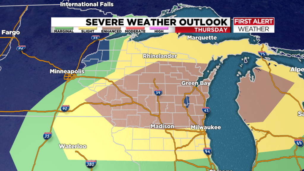 ALERT DAY: Storms possible Thursday
