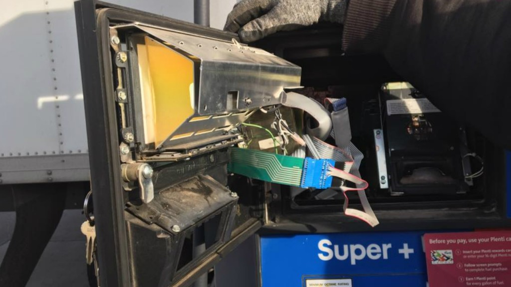 Skimmer found at DeForest gas station