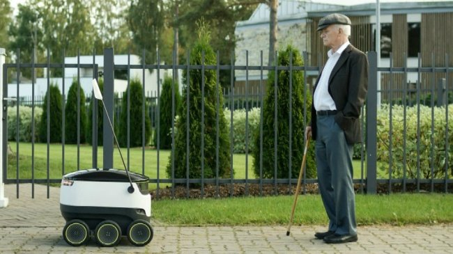 Lawmakers to vote on robot delivery bill