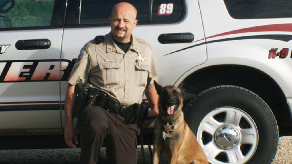 K-9 finds man who fled from traffic stop hiding in tree line