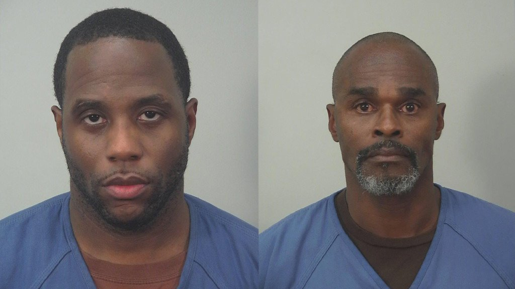 Two men arrested for stealing items from 97-year-old woman's purse, police say