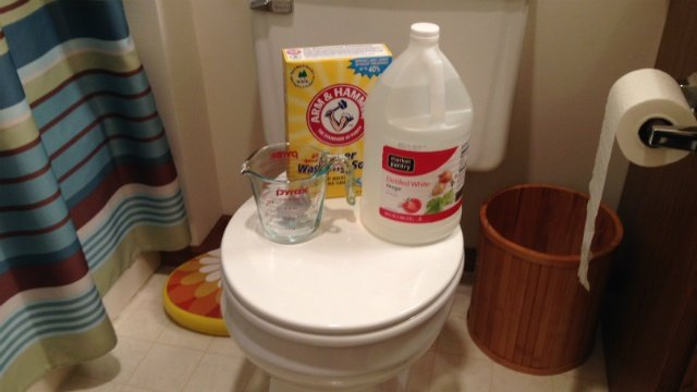 Hard water stains definitely aren't easy to get rid of