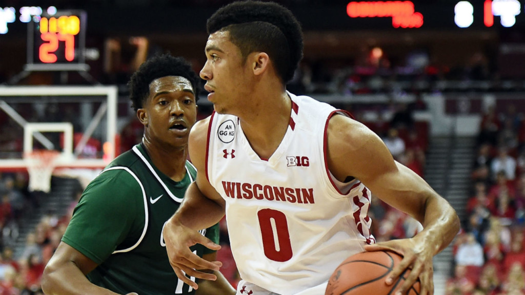 D'Mitrik Trice leads Wisconsin over Coppin State