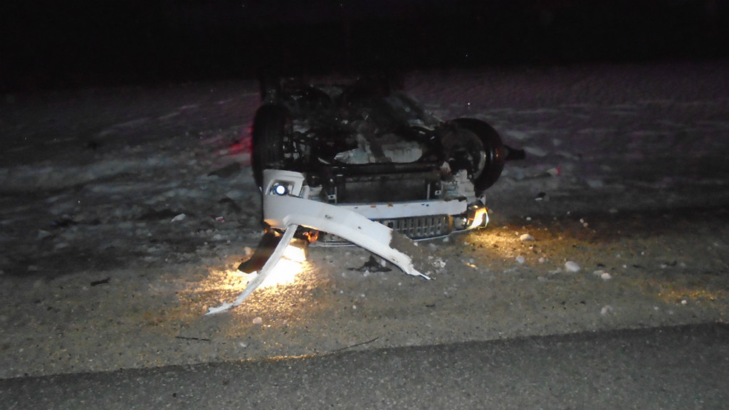 Police: Alcohol, icy roads possible factors in crash