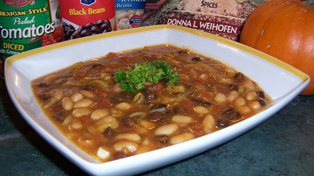 Donna's Pumpkin Black Bean Soup