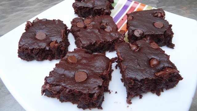 Donna's Brownies (Cake Texture) With A Secret Ingredient (Beets)