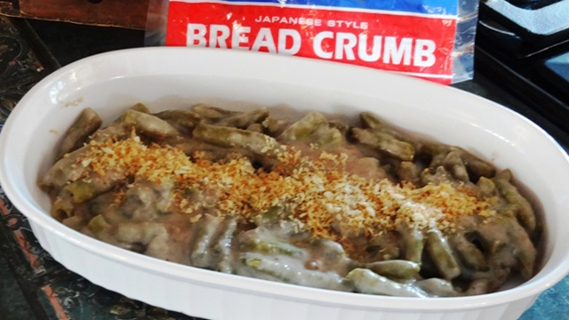 Donna's Green Bean Casserole With Homemade Mushroom Sauce