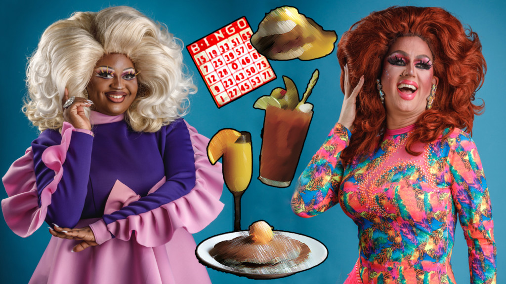 Two drag brunches and drag bingo this week