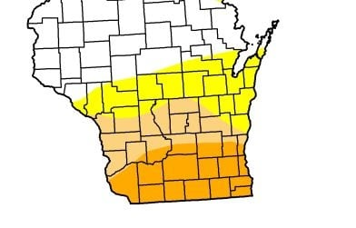 Extreme drought eases in Southern Wisconsin