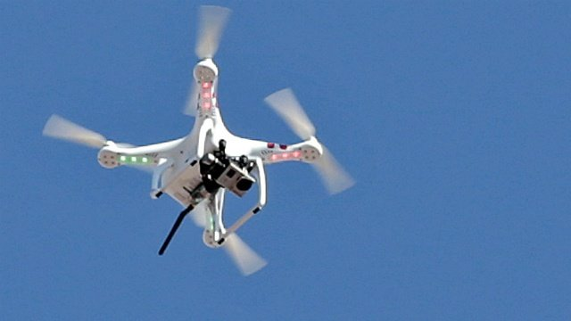 Police investigate drone sighting at Camp Randall
