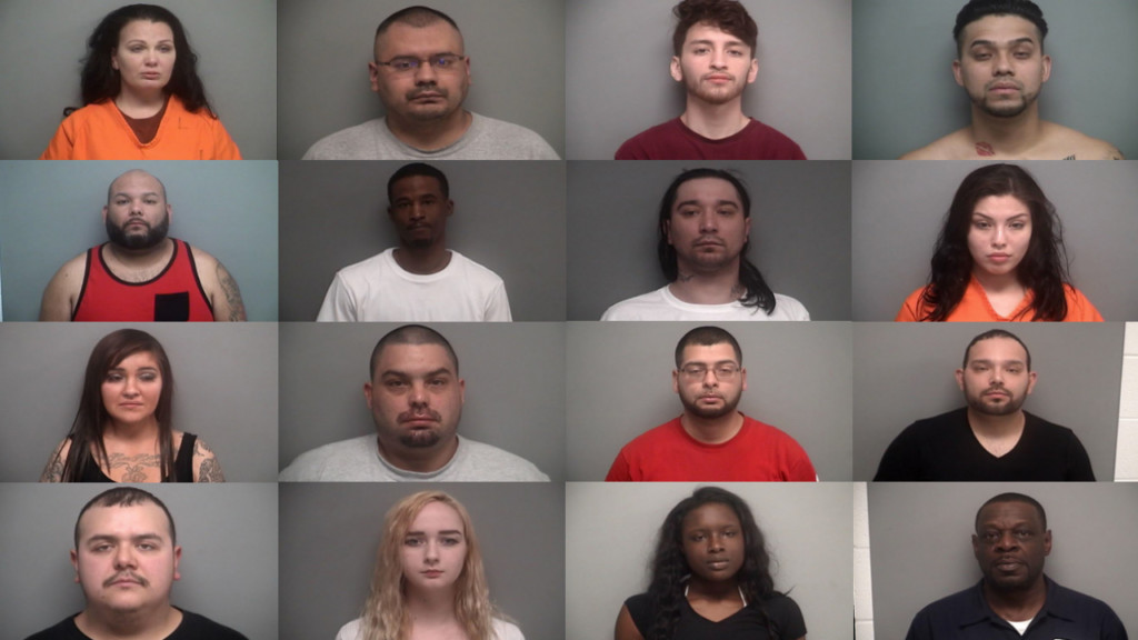 Officials arrest 16 in the investigation of drug distribution in Walworth County