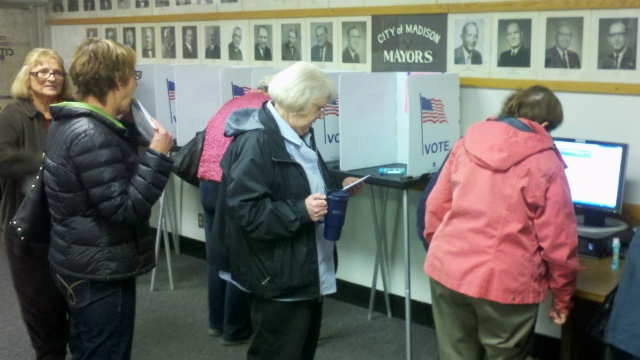 In-person early voting under way