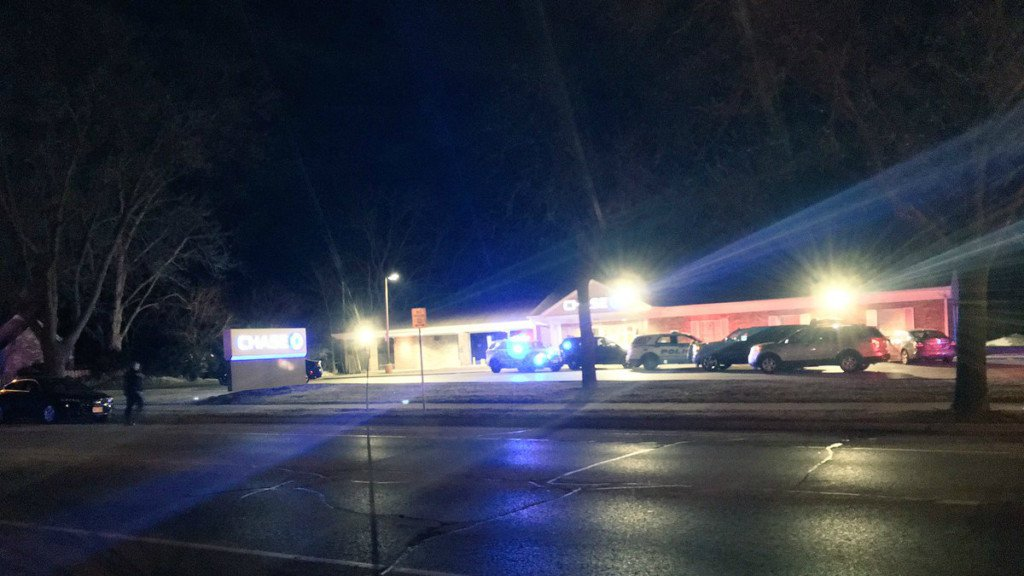 Chief: Armed security guard shoots, kills robber at bank on Madison's far east side