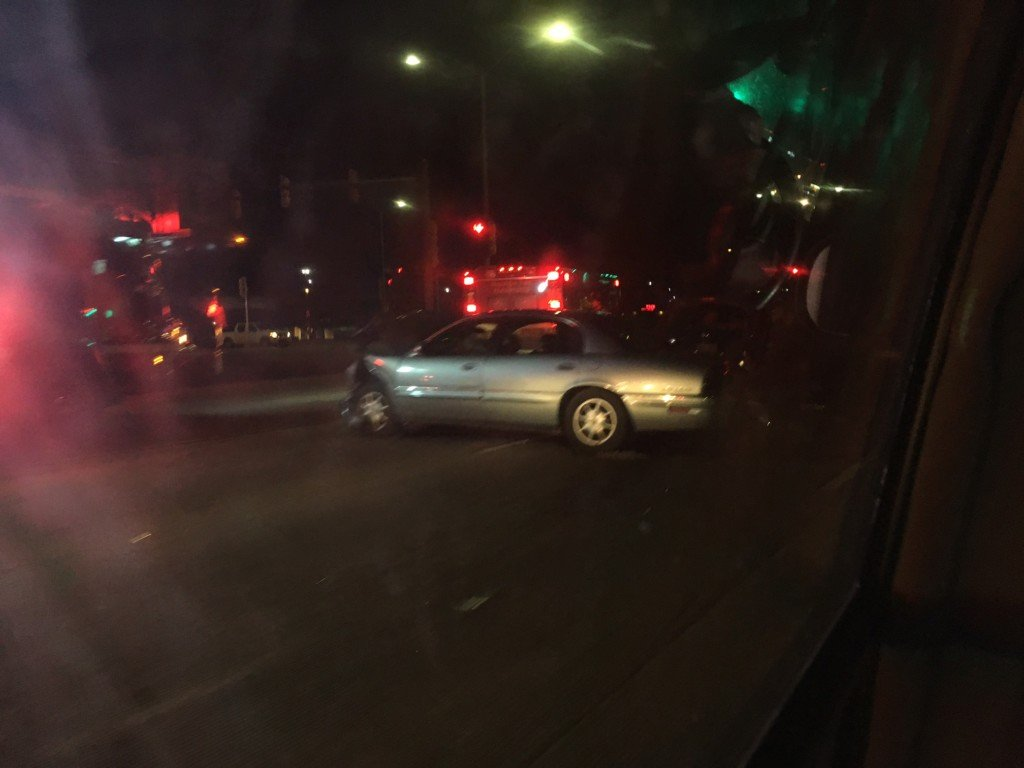 Crews sent to 3-car crash on East Washington Avenue