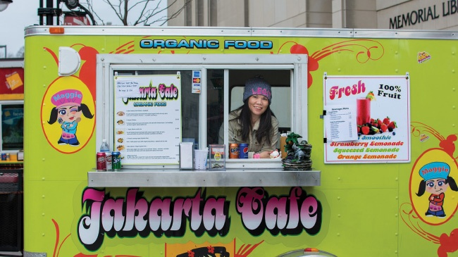 5 food carts with ethnic flair