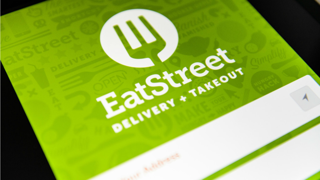 eatstreet app on the phone