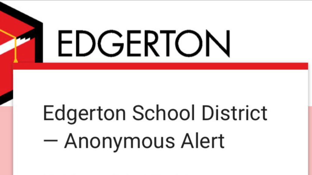 New anonymous reporting system helps keep Edgerton students safe