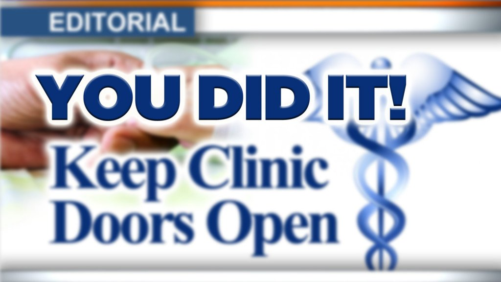 Editorial: You did it!