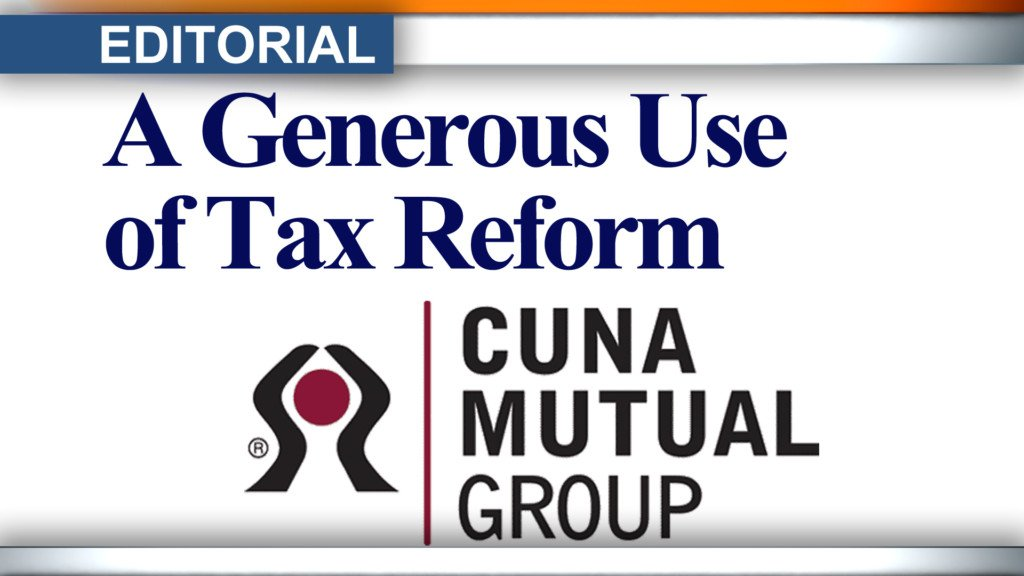 Editorial: A generous use of tax reform