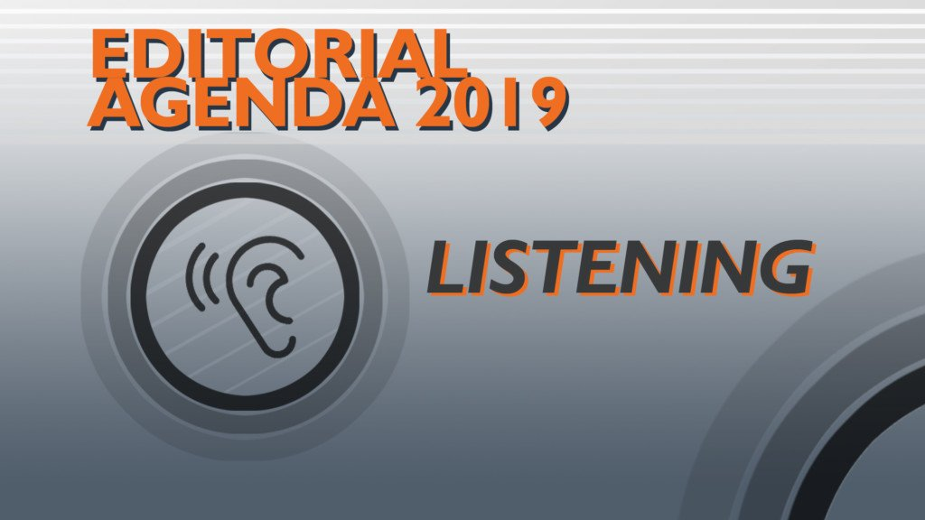 Editorial: Listening, asking to be heard