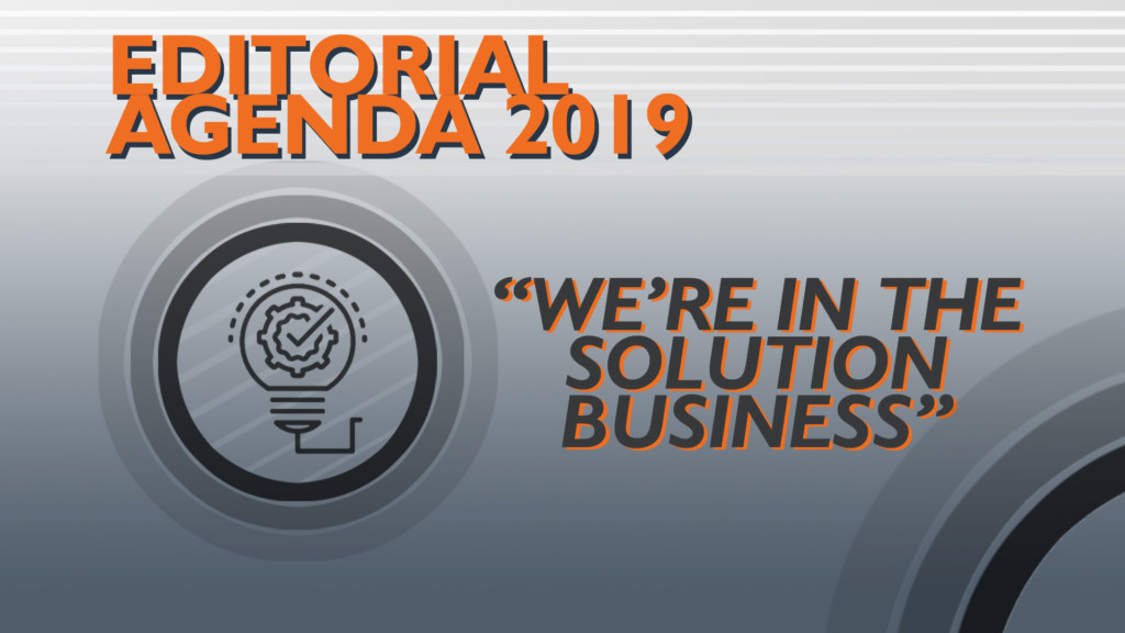 Editorial Agenda 2019: Manufacturing is cool