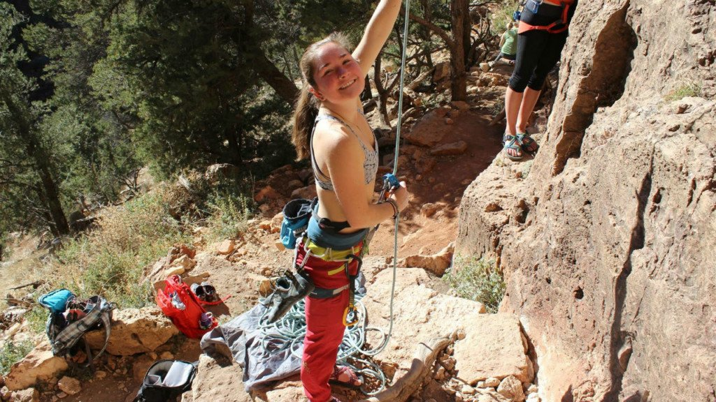 Ella's Road to Recovery: a Verona native falls 60 feet in rock climbing accident