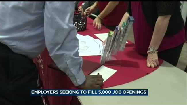 Despite low unemployment rate, thousands turn out for Dane County Job Fair