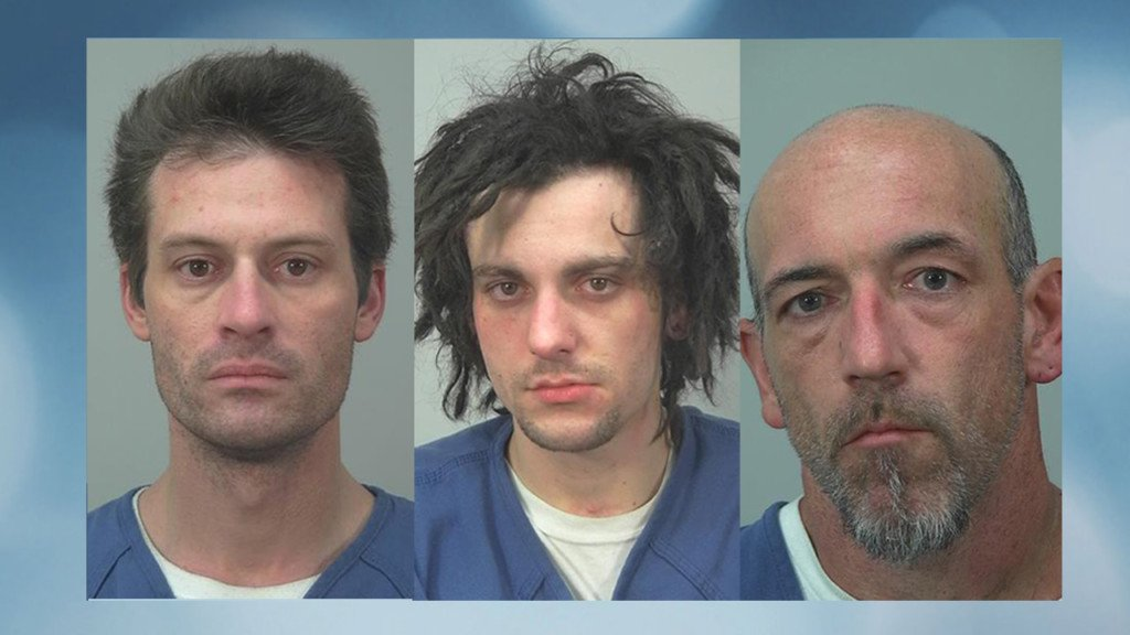 Police: Group of suspected armed robbers face similar charges in another county