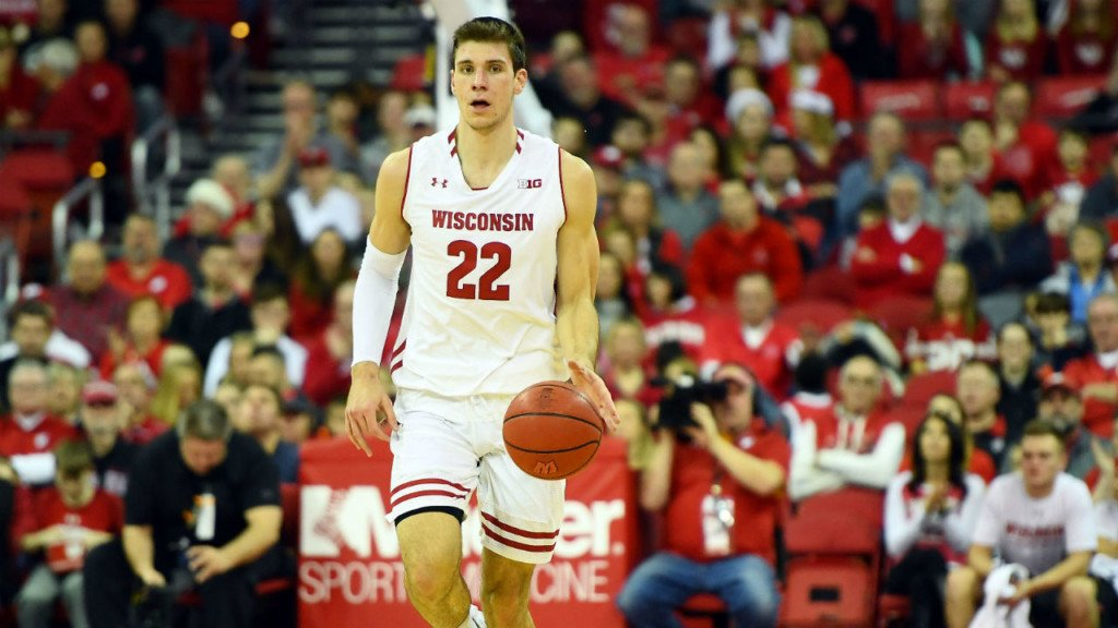 Badgers defeat Maryland, 69-61
