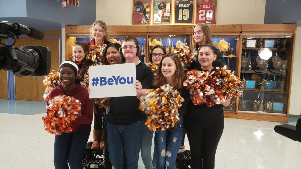 Here's how you take the #BeYou pledge!