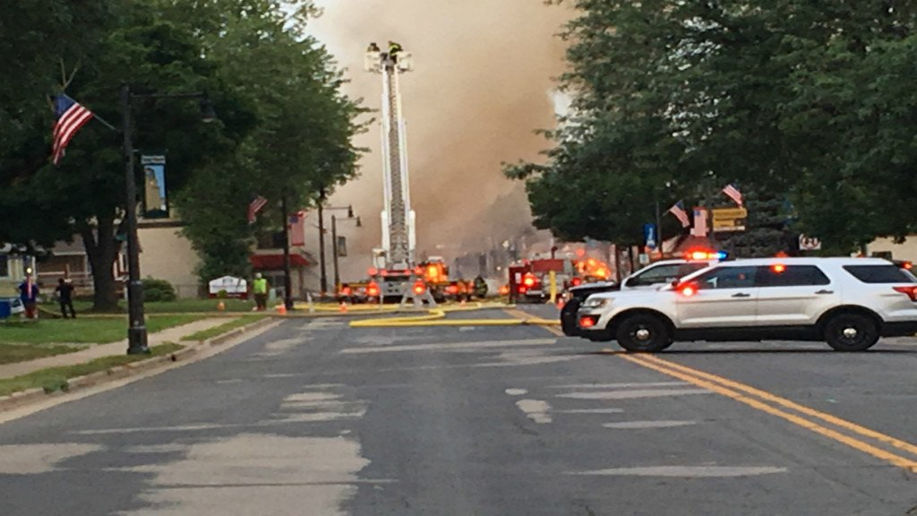 'There was a big boom': Residents react to Sun Prairie explosion that leveled buildings downtown