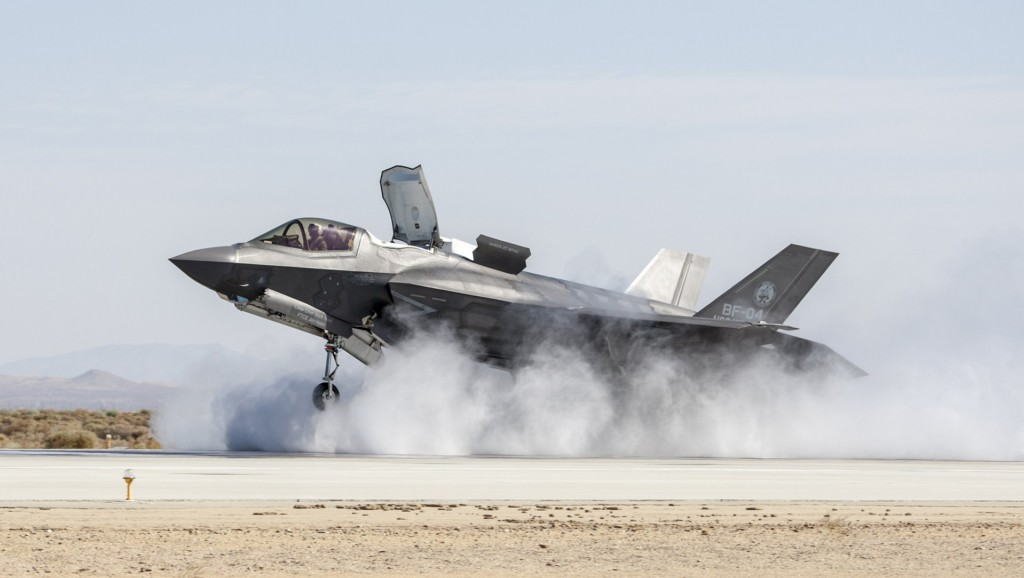 F-35 environmental report identifies points of interest where noise can significantly increase