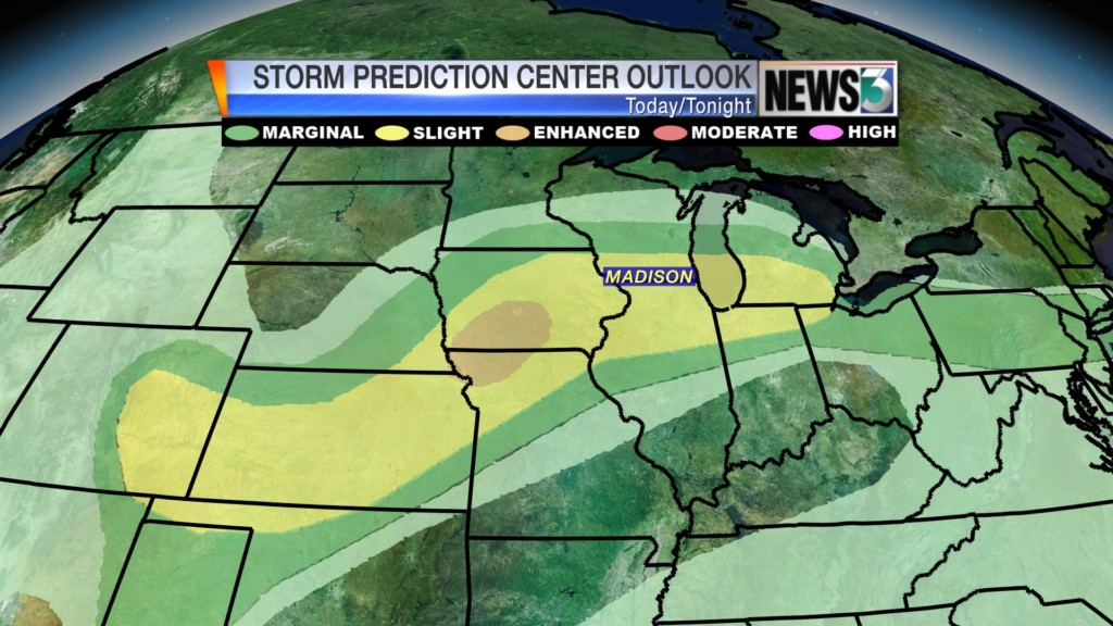 Severe storms, heavy rainfall expected Thursday night