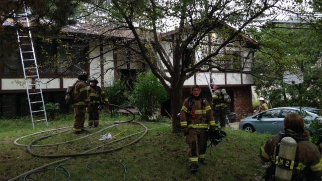 2 small dogs rescued from west side house fire