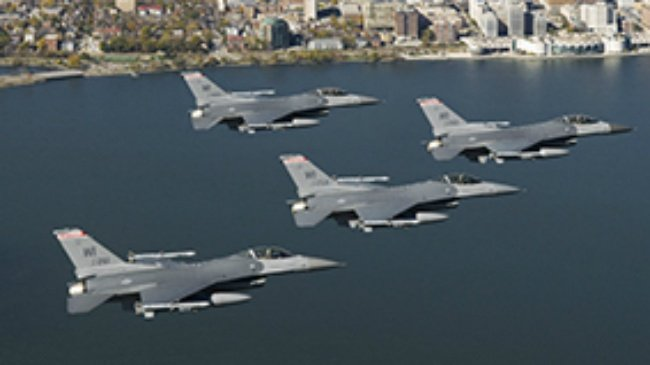 Fighter jets to conduct nighttime training flights this week