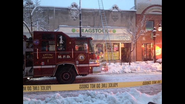 Fire causes $100k damage to Ragstock Thursday
