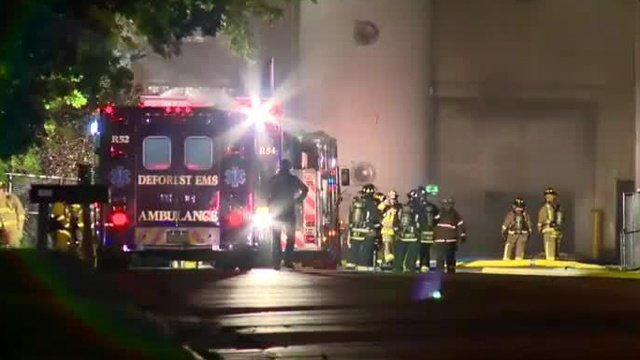 Fire at Sanimax plant in DeForest