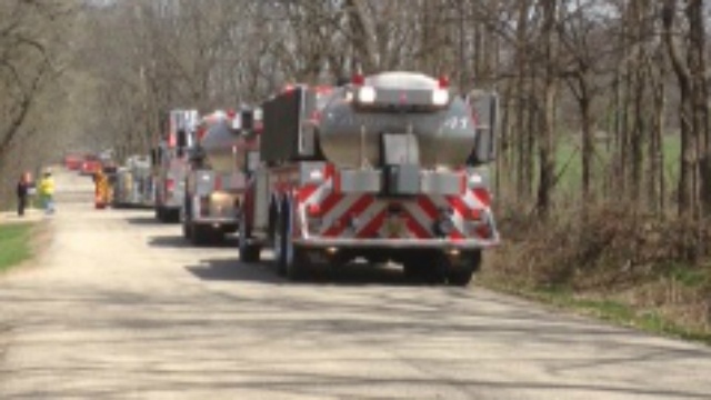 Multiple fire departments respond to 3 fires in town of Beloit