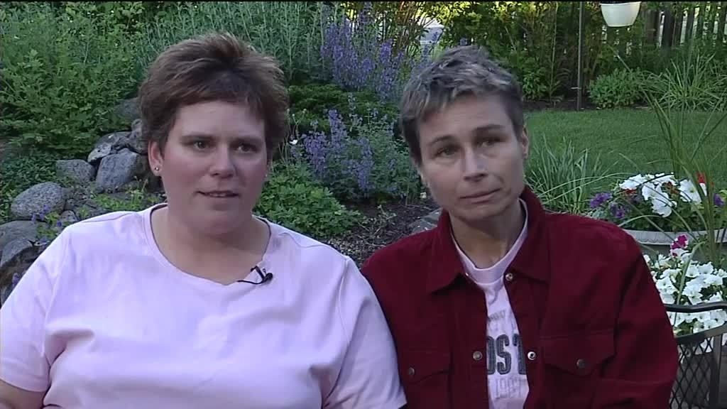1st same-sex couple to wed in Wis.: 'You can't shove this genie back in the bottle'