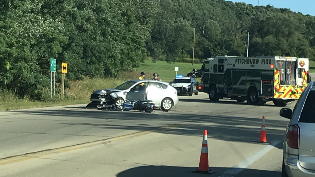 Authorities ID motorcyclist killed in Fitchburg crash