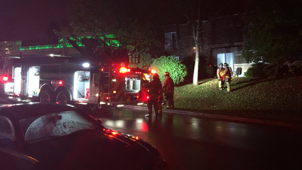 Fitchburg Fire Department responds to basement fire in apartment complex
