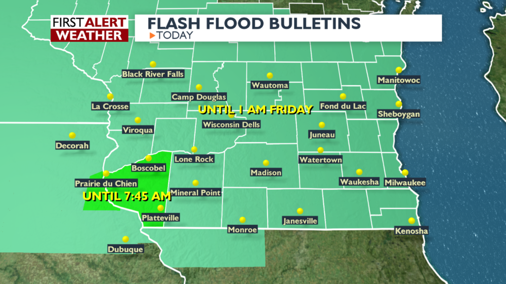 Alert Day: Flash Flood Watch in effect
