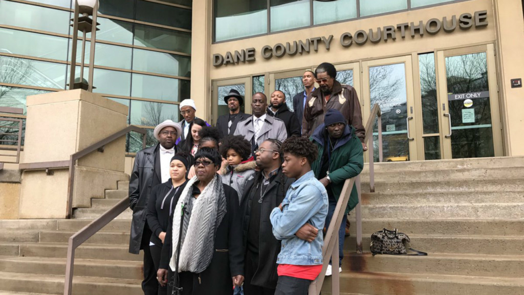 Group calls for charges against teen to be dropped, school officers removed