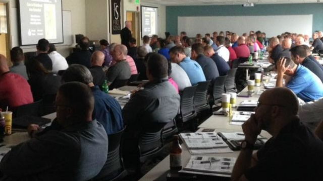 Law enforcement officers attend deadly-force training