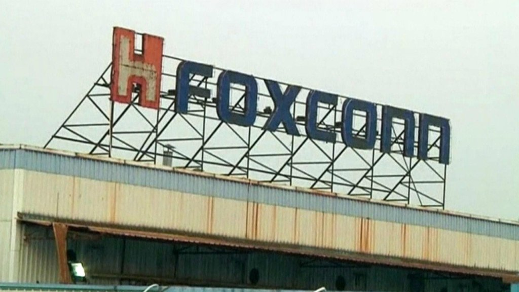 Foxconn sign