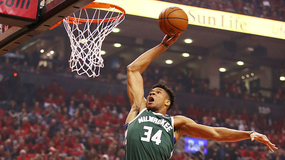 Giannis (unanimously) named 1st team All-NBA