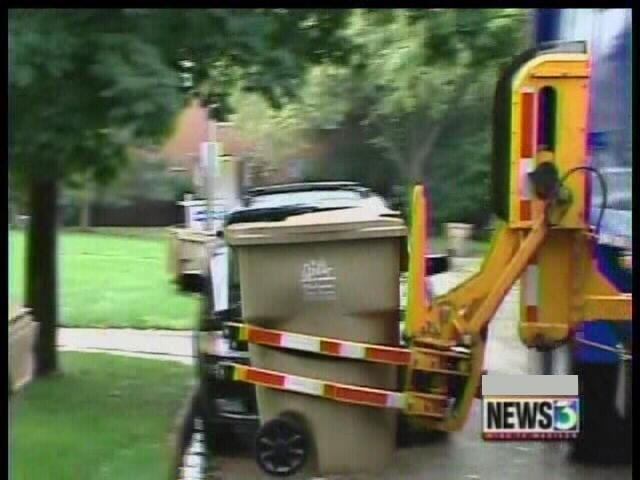 Madison's garbage pickup resumes Monday